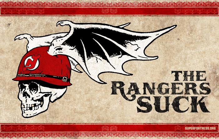 The Rangers Suck